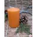 Stumpenkerze 6 x 10, orange