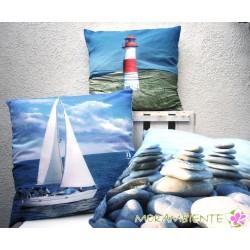 Maritime Kissen 45 x 45 cm