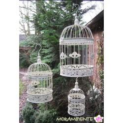 Romantische Deko-Käfige in drei Größen