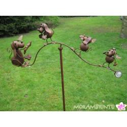 "Gartenstecker ""Hundewippe"""