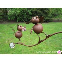 "Garten- Wippstecker ""Hunde"""