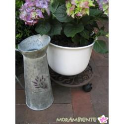 Pflanzenroller rund aus Gusseisen