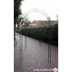 """Großer Rosenbogen  """"Blätterranken"""""""