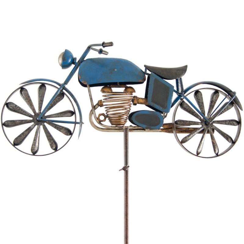 "Gartenstecker ""Motorrad"" im Antik-Look"