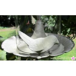 Vogel- Futterhaus zum Hängen in Antikoptik