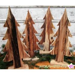 Holztanne natur