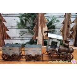 Dekoeisenbahn aus Metall