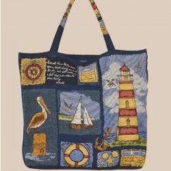 maritime Shopper-Tasche ''Leuchtturm''