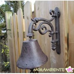 nostalgische Glocke aus Gusseisen