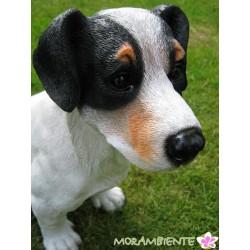 Lebensgrosser Hund Jack-Russel