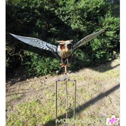 "Gartenstecker ""fliegende Eule"""