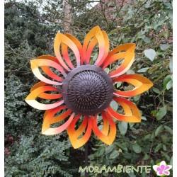 """Gartenstecker, Windrad """"Sonnenblume"""""""