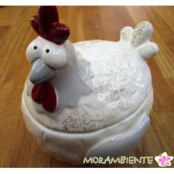 """Keramikdose """"Huhn Klara"""""""