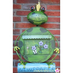 """Deko-Briefkasten """"Froschkönig"""""""