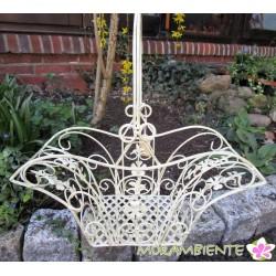 """Dekokorb """"Versailles"""" aus Metall in 3 Größen"""