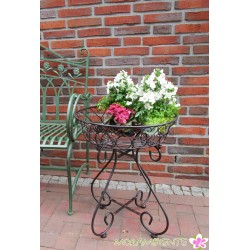 """Blumen- oder Beistelltisch """"Sonnenblume"""" aus Metall"""