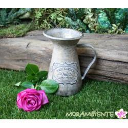 """Metallkrug """"Rose Garden"""" aus Metall in gold-antik"""