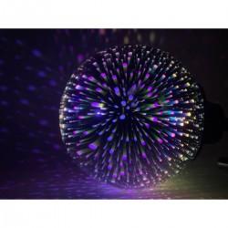 Solar-Leuchte Glaskugel mit 3D-Effekt