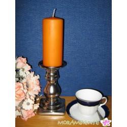 Silberfarbiger Kerzenleuchter für Leuchter oder Stumpenkerzen